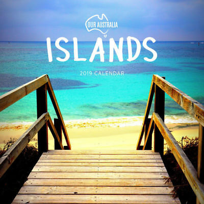 Our Australia Islands 2019 Wall Calendar by Paper Pocket, Free Post (NEW)