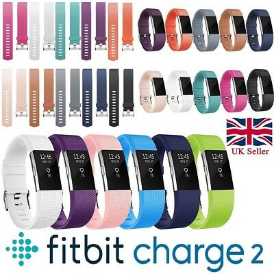 UK Fitbit Charge 2 Wrist Straps Wristbands Replacement Accessory Watch Bands