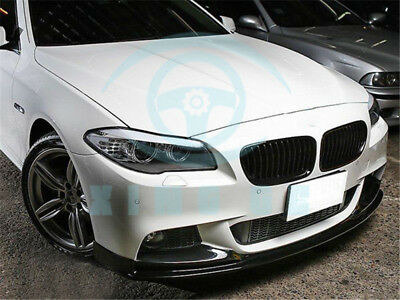 3D Style Car Front Bumper Lip For BMW F10 M-Sport 528i 535i 550i only 11-16