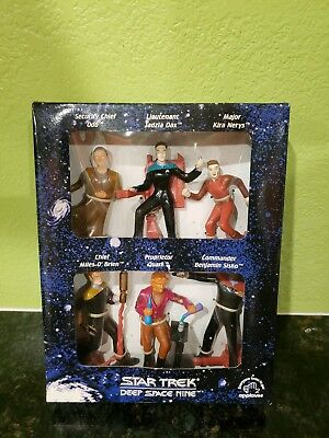 1994 Star Trek Deep Space Nine Set of 6 Collectible Figurines  by Applause