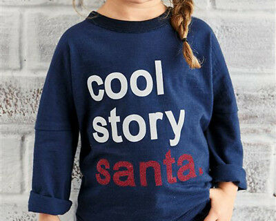 Next Baby Girls Navy Christmas Top Age 18-24 Months BNWT