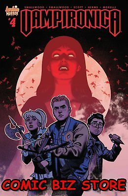 Vampironica #4 (2018) 1St Printing Smallwood Cover A Archie Comics