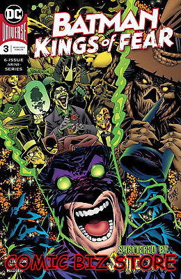 Batman Kings Of Fear #3 (Of 6) (2018) 1St Printing Bagged & Boarded Dc Universe