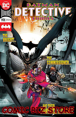 Detective Comics #991 (2018) 1St Printing Main Cvr Dc Universe Bagged & Boarded