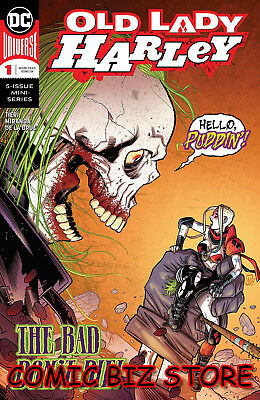 Old Lady Harley #1(Of 5) (2018) 1St Printing Mauricet Main Cover Dc Universe