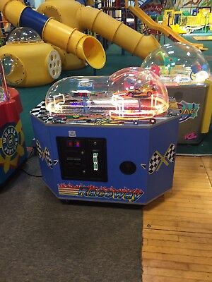 Coin Operated Raceway Redemption Game