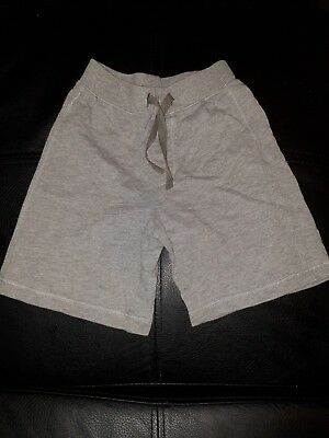 Marks & Spencer Uk Boys Size 18 Months - 2 Years Grey Shorts Tie Front