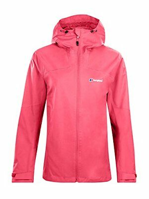 Berghaus Waterproof Fellmaster Womens Outdoor Hooded Jacket available in Pink P