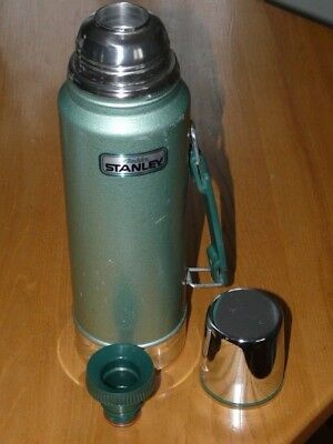 Vintage One Quart Aladdin STANLEY Thermos with Handle # A-944DH - Made in U.S.A.