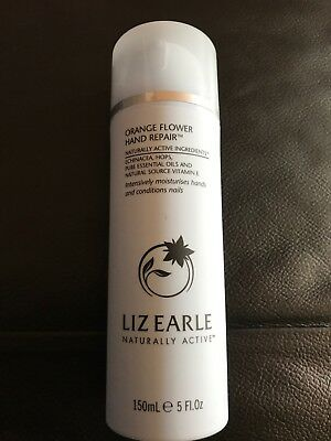 Liz Earle Orange Flower Hand Repair 150ml Pump