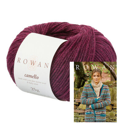 ROWAN SELECTS CAMELLO -  VARIOUS SHADES - 25g BALLS *INCLUDES FREE PATTERN BOOK*