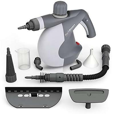 PurSteam Handheld Pressurized Steam Cleaner with 9-Piece Accessory Set - and All