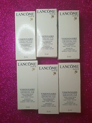 6 x Travel Size Lancome Visionnaire Advanced Skin Corrector