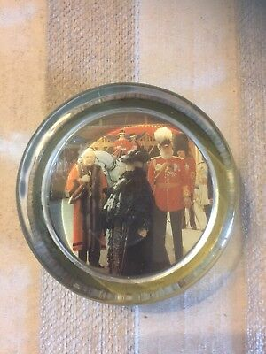 Royal Glass Paperweight