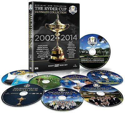 Ryder Cup - The Ultimate Collection 8-DVD-Box 2002+2004+2006+2008+2010+2012+2014