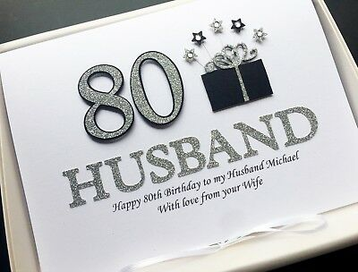 Personalised 30th Birthday Card For Men Handmade Gift Boxed You