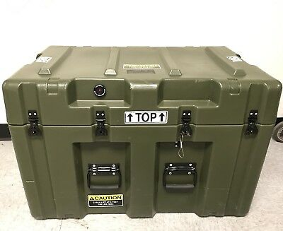 Pelican Hardigg Military Waterproof, Lockable Storage Footlocker *SPECIAL*