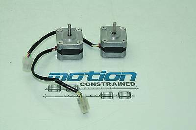 2 Oriental Motor Vexta Nema 17 Stepper Motors PXC43-01A-C5 Two Phase