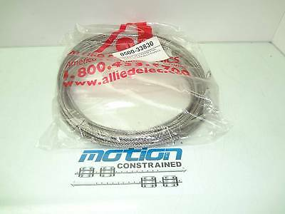 4 Allied Ground Wire Steel Rope 6x19+SE 4mm Diameter 5951mm Long
