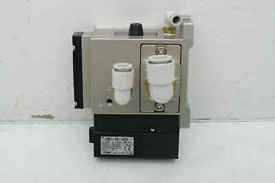 SMC ZM073H-A5LZ-E19C Vacuum Ejector and ZSE-00-19CN Switch / 24VDC