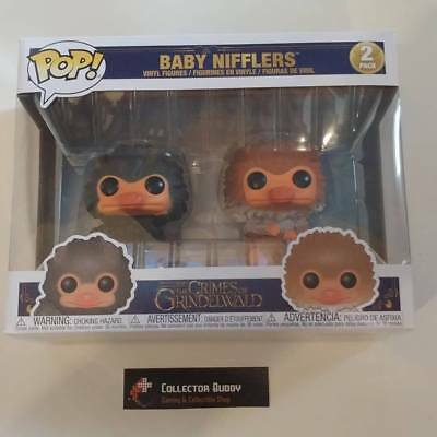 Funko Pop! Fantastic Beasts 2 Pack Baby Nifflers The Crimes of Grindelwald Pop