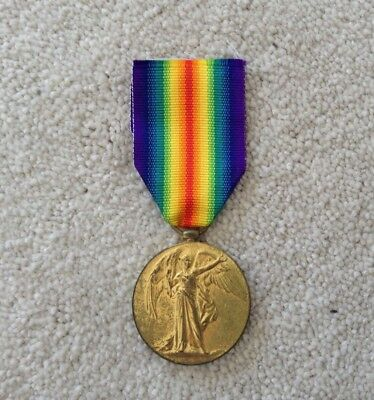 Great War Victory Medal to Army Service Corps Warrant Officer from Darlington
