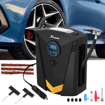 12V Auto Car Tyre Inflator Pump Digital Portable Tire Air Compressor Pump 120W