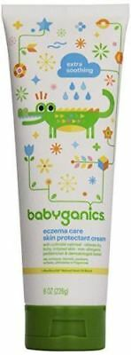 Babyganics Eczema Care Skin Protectant Cream, 8 oz Tube (Pack of 2)