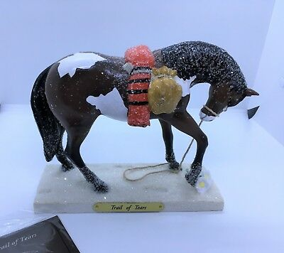 Trail of Tears - Trail of the Painted Ponies figurine - 1E/4381