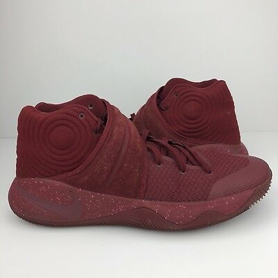 reputable site 6bfe0 94b1d Nike Kyrie 2 Size 14 Mens Red Velvet Two Irving Basketball Team 819583-600