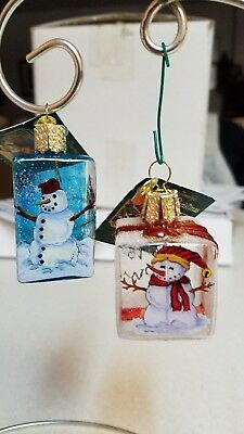 "Old World Christmas ""Inside Art"" ornaments"