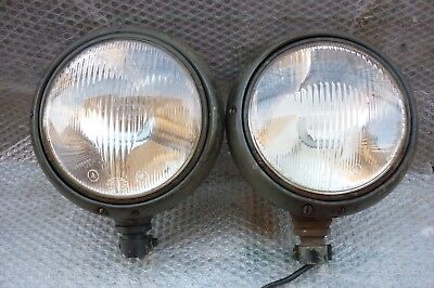 Munga Fanali DKW Auto Union Headlights Scheinwerfer Bundeswehr Military MAN