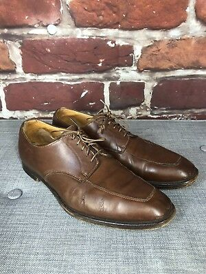 6b56685a0749b MEN S PEAL   Co Brown Pebbled Leather Lace Up Shoes Sz 12 - England ...
