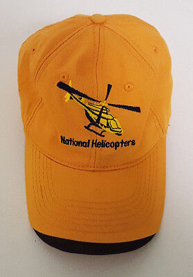 National Helicopters Baseball Cap. 25 Years of Excellent. Never Worn. Excellent
