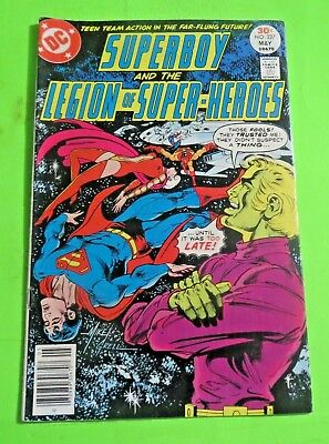 Superboy & the legion of Super-heroes #227 DC Comics Bronze Age (1977) C1962