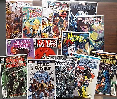 Grab Bag Lot of 10 Signed Comics by Today's Greatest Creators