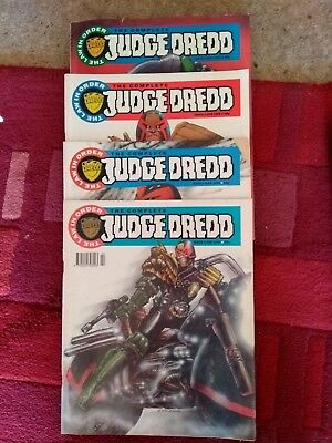 The Complete Judge Dredd issues 1 - 4