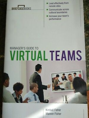 Managers Guide To Virtual Teams Paperback By Fisher Kimball