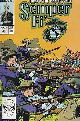 Semper Fi' Tales Of The Marine Corps #4 Marvel Comics 1989 FN/VF
