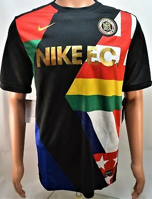 Nike F.C. World Cup Printed Training Soccer Jersey Sz Large L NEW 886872  010 HTF d277ee00b