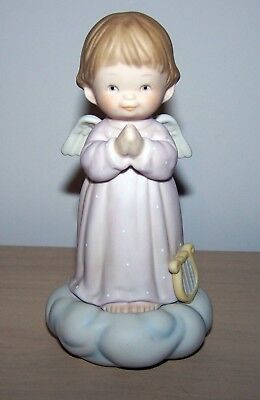 """524670 Memories of Yesterday """"Let me Be Your Guardian Angel"""" Figurine 1990"""