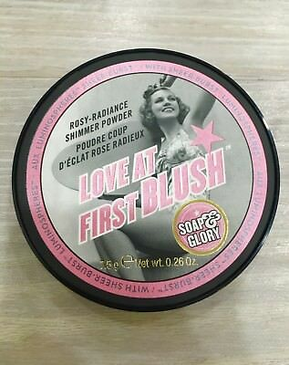NEW & SEALED Soap & Glory Love at First Blush Rosy Radiance Shimmer Powder 7.5g