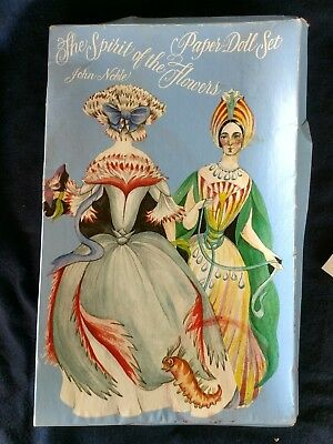 Vintage Boxed Paper Doll Set Spirit of the Flowers John Noble Victorian style