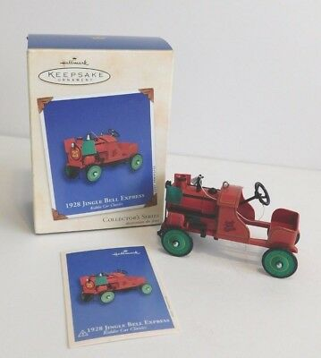 2002 Hallmark Keepsake Ornament 1928 Jingle Bell Express #9 **  FREE SHIPPING