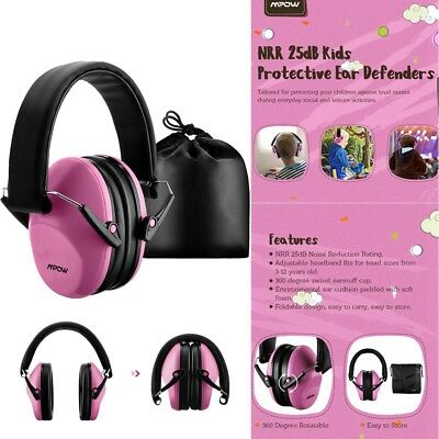 Mpow Kids Ear Protector Muffs Earmuffs Children Baby Safety Hearing Protection