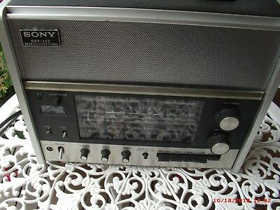 Vintage Sony Crf -150 13 Band Am, Fm, Sw Radio Receiver