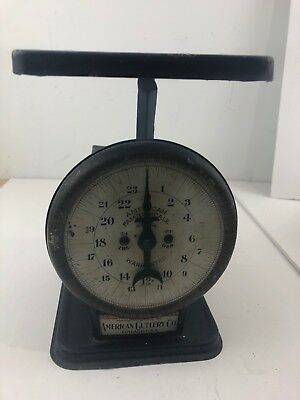 C3 Vintage AMERICAN CUTLERY COMPANY AMERICAN FAMILY SCALE 24 Lbs