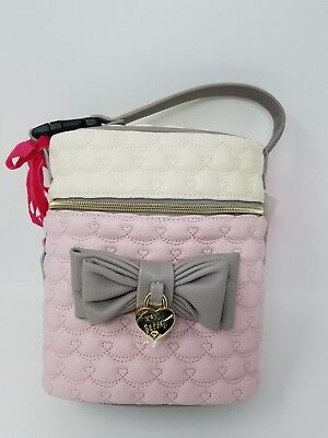 Betsey Johnson Faux Leather Insulated Bottle Tote Bag~Bbd2045~Nwt