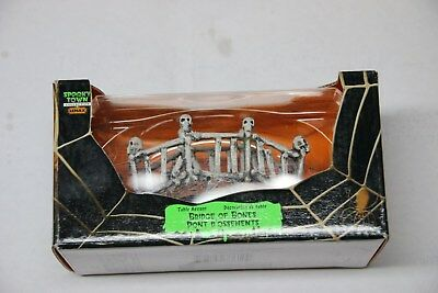 Lemax Spooky Town Collection - Bridge OF Bomes - New In Box