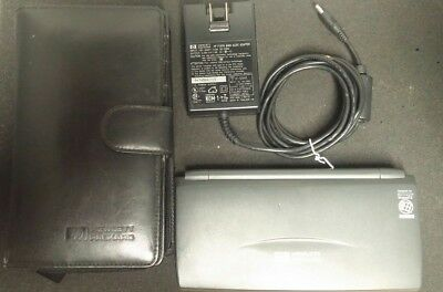 HP 360LX Palmtop, Touchscreen, Windows CE, with Charger and Rare Case